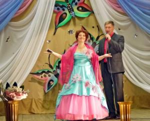 Ольга Петухова и Михаил Чубченко