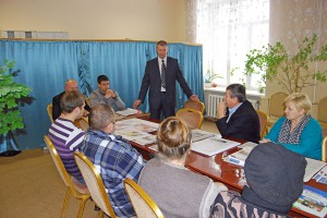 Заседание в Мичуринском сельсовете