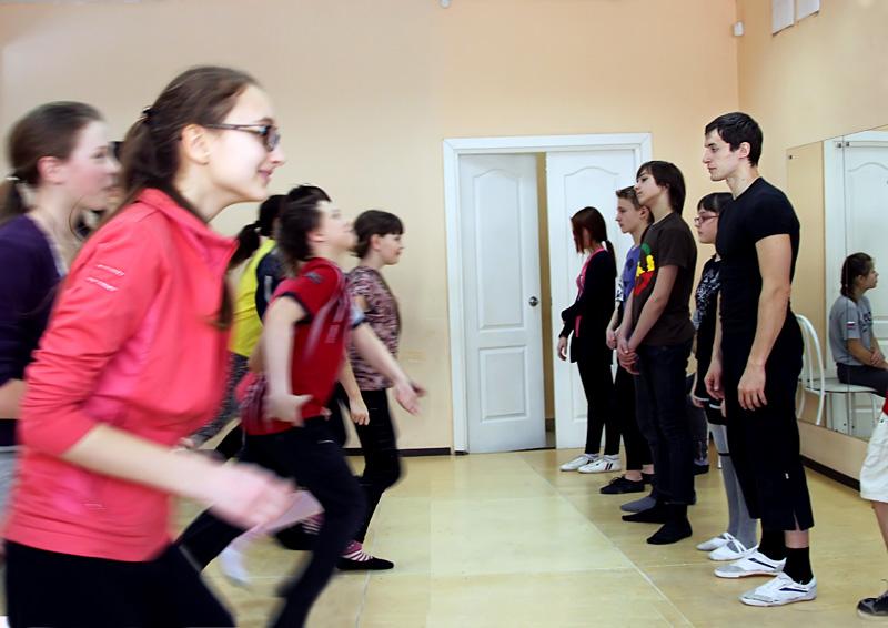 Арт-класс Василия Лукьяненко в Краснообске