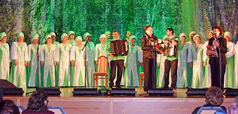 Хор русской народной песни в Краснообске