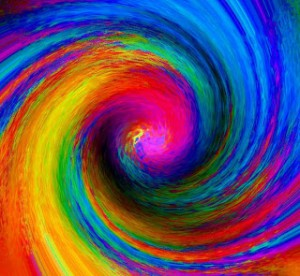 rainbow espiral