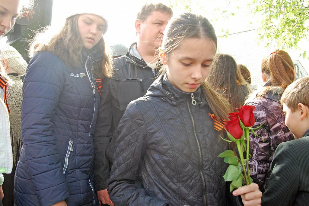 В День Победы в Краснообске