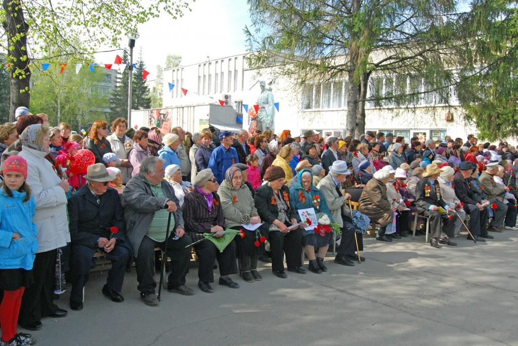 Ветераны войны Краснообска