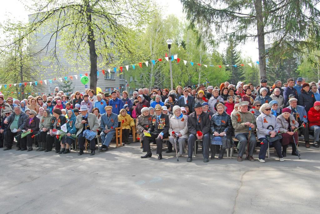 Ветераны, Краснообск 2014