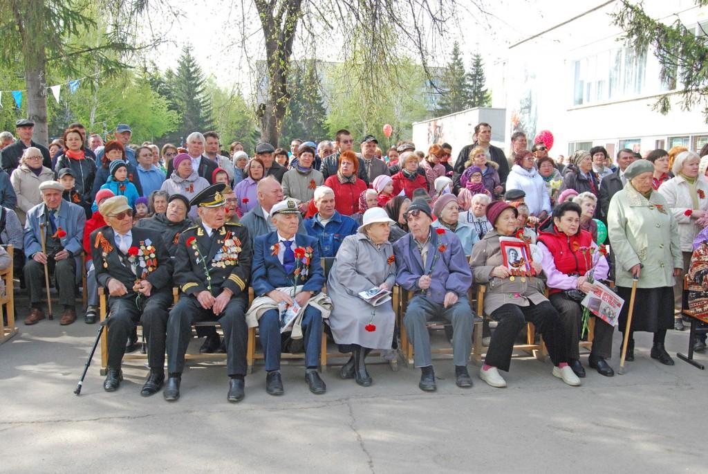 Ветераны Краснообск