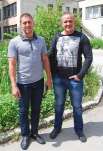 Иван Зыбарев и Артем Виноградов