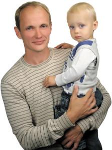 Сергей Шоркин с сыном Савелием