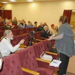 Оппозиционные депутаты встретились с жителями Краснообска