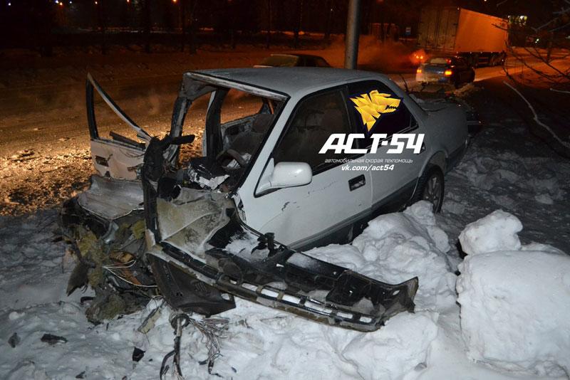 Авария в Краснообске 5 февраля 2014